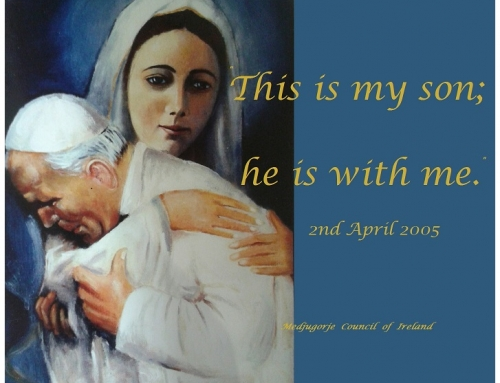 12th ANNIVERSARY OF THE DEATH OF ST. JOHN PAUL II