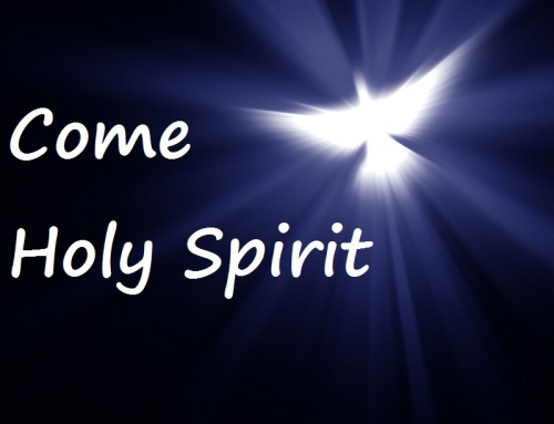 Day 6. 16th May.  NOVENA TO THE HOLY SPIRIT.  We pray for an outpouring of the gift of  PIETY