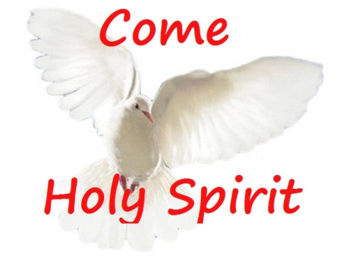 Day 8. 18th May.  NOVENA TO THE HOLY SPIRIT