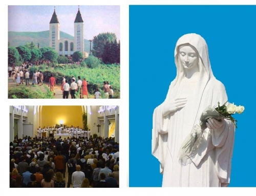Day 3. Novena of thanksgiving for 37 years of  Our Lady's apparitions in Medjugorje.