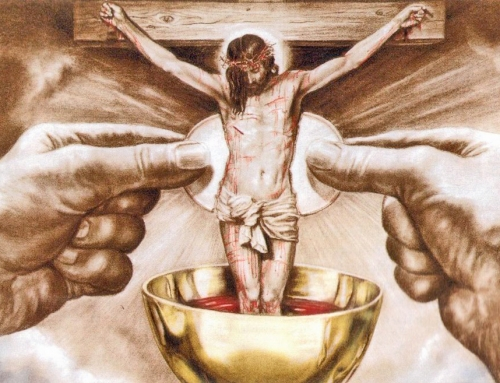 July is the month of the Precious Blood of Jesus
