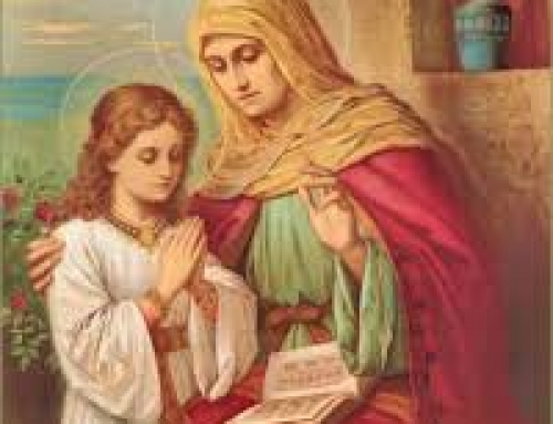 Beautiful Story of how the Relics of Saint Anne were found by deaf, dumb and blind boy