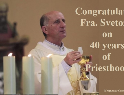 Fr. Svetozar Kraljević celebrates 40 years a Priest
