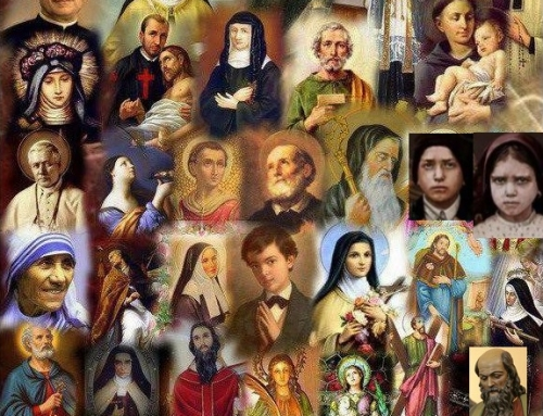 HAPPY SOLEMNITY OF ALL SAINTS