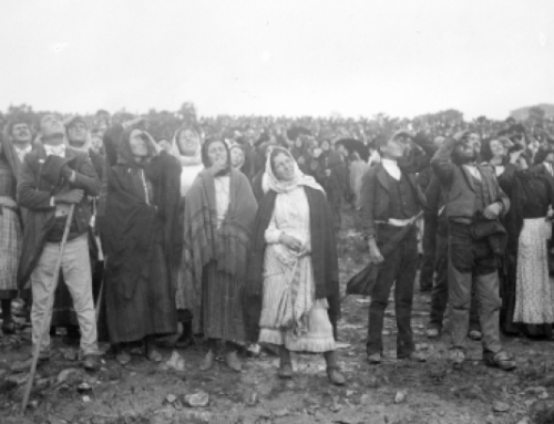 Eyewitness' account of the miracle of the sun 13 October 1917, Fatima.