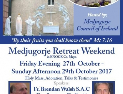 'Medjugorje Retreat Weekend' in Knock begins tomorrow