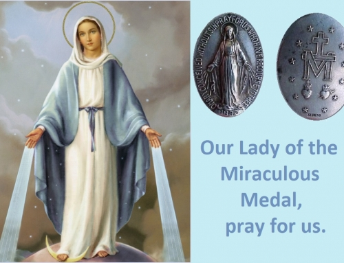O MARY CONCEIVED WITHOUT SIN PRAY FOR US WHO HAVE RECOURSE TO THEE.  AMEN.