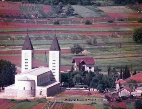 49 YEARS AGO, TODAY, THE  CHURCH OF ST. JAMES, MEDJUGORJE, WAS BLESSED.
