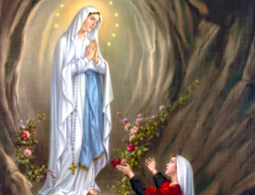 "160th anniversary of Our Lady's apparitions in Lourdes…""I am the Immaculate Conception"""