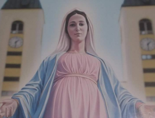 Message of Our Lady Queen of Peace, for the world, through the visionary Marija Pavlović-Lunetti.  25th April 2018