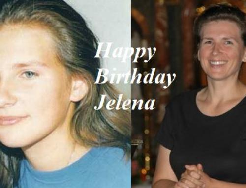Happy & Blessed Birthday Jelena.